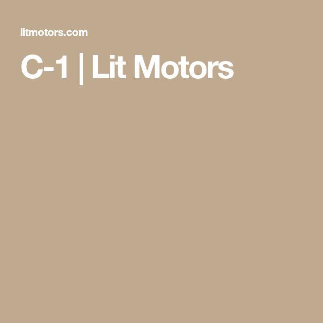 C-1 |  Lit Motors