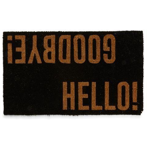 Kmart Hello goodbye doormat