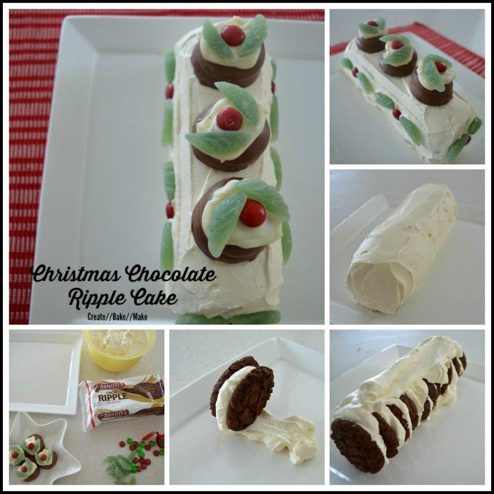 Chocolate Ripple Cake Pinterest