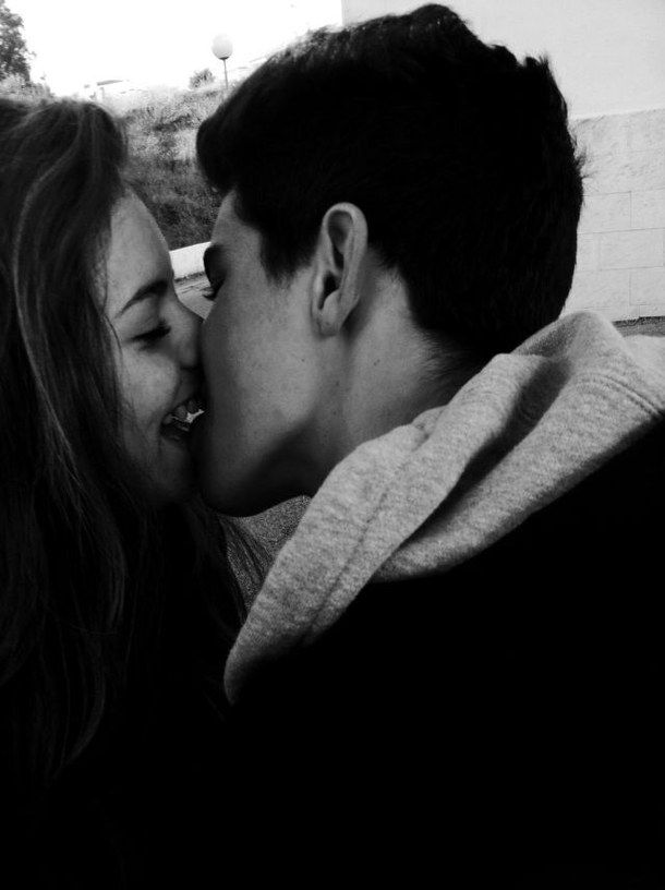 amar, couple, cute couple, kiss, kissing - image #4443596 by ...