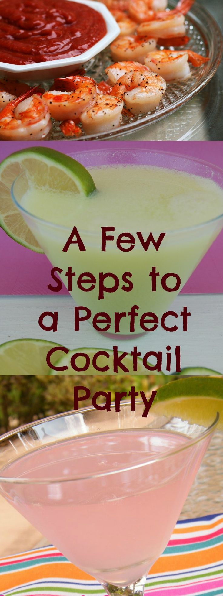 Plan the Perfect Cocktail Party | Who Needs A Cape? Drink and food suggestions along with helpful hints on how to host your own Cocktail Party!