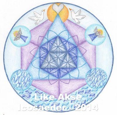 Mandalagalerij cursisten 'Heilige Geometrie en Graancirkels' - Vrij Expressief