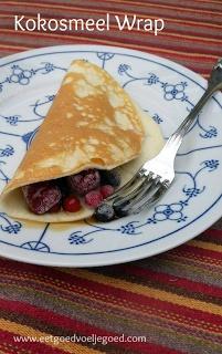 Eet goed, Voel je goed: Kokosmeel Wraps