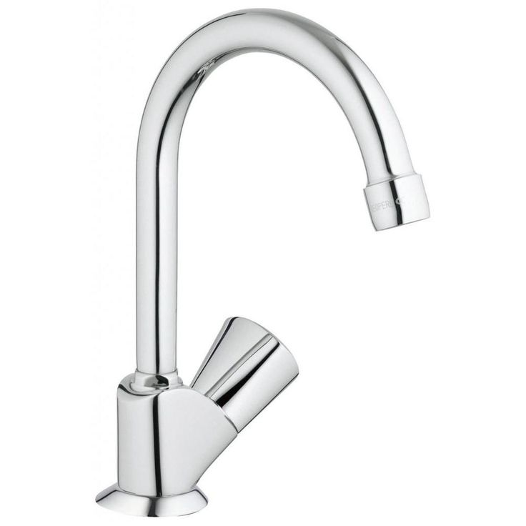 Grohe Starlight Chrome (Grey) Classic Ii Classic Pillar Tap Kitchen Faucet (Starlight Chrome)