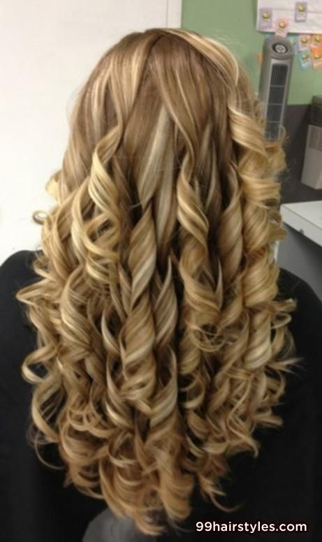 curly long blonde hairstyle for wedding - 99 Hairstyles Ideas