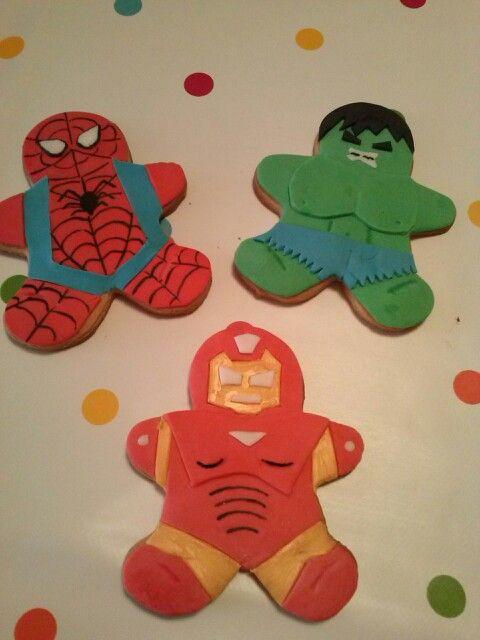 Galletas superheroes