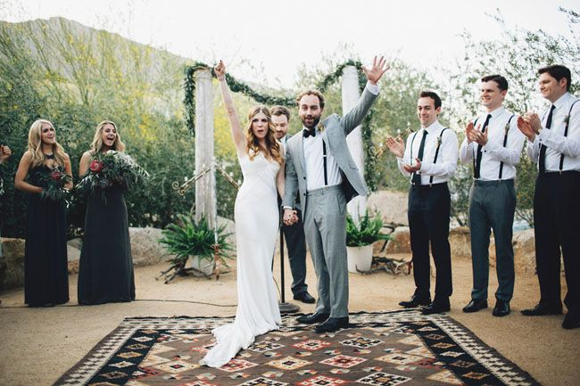 Vintage-Meets-Urban Palm Springs Wedding: Laura + Ken | Green Wedding Shoes Wedding Blog | Wedding Trends for Stylish + Creative Brides