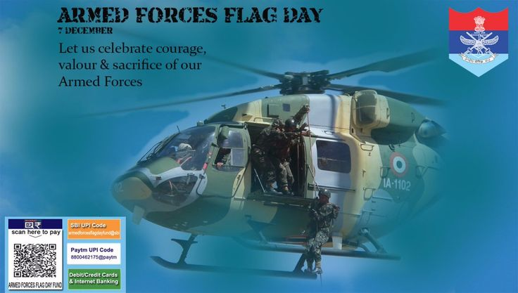 Many brave and gallant heroes from our Armed Forces have laid down their lives in the service of the Nation and they shall continue to do so. #ArmedForcesWeek Honour the Braves by proudly wearing Armed Forces Day flag. @PIB_India @nsitharaman @http://DefenceMinIndiapic.twitter.com/CMWv1H5A2Q #IndianArmy #Army