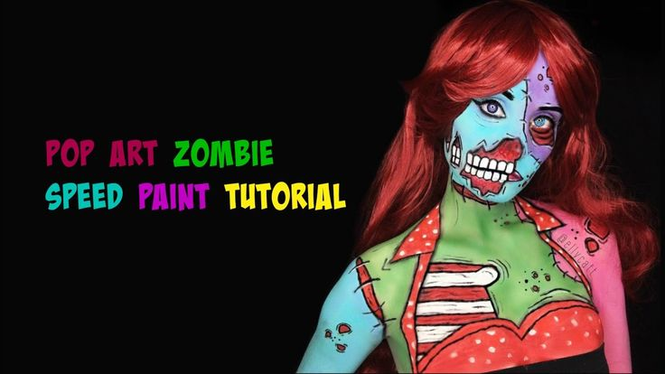 Pop Art Zombie Speed Paint