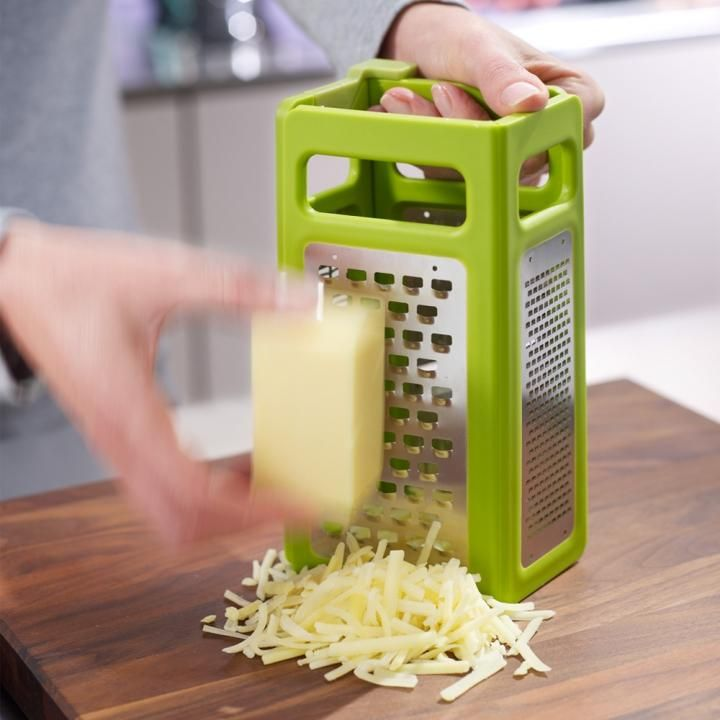 Perfect for cheese lovers... the Joseph Joseph Fold-flat Grater™ Plus.