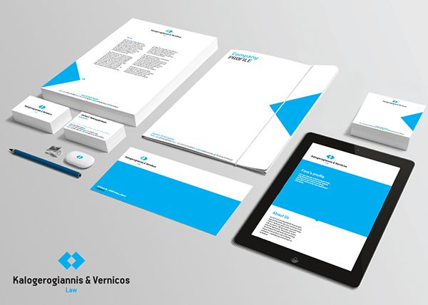 Company Profile for a Law and Consulting Firm on Behance