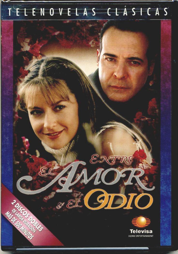 ENTRE EL AMOR Y ODIO (2002) * DVD Telenovela NEW FACTORY SEALED *Televisa Novela