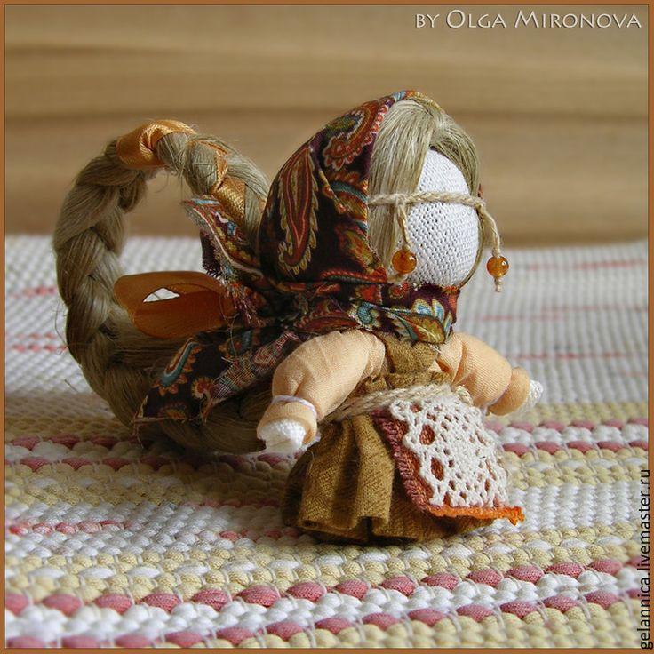 Купить Долюшка - долюшка, народная кукла, куколка на счастье, куколка с косой, для, оберег, оберег в подарок