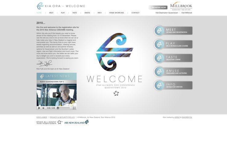 AirNZ_StarAllianceConference delegates website