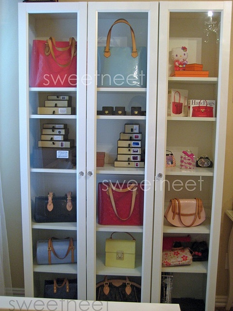 Ikea Shelves For Handbags