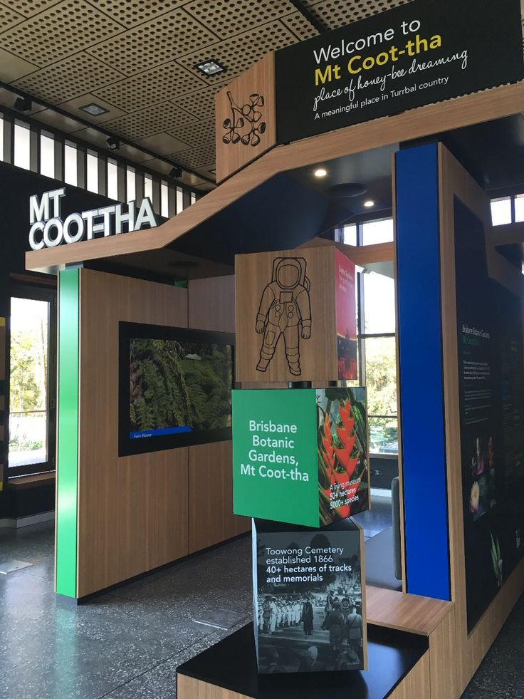 #MtCoottha Visitor Information Centre displays design and build by #focusproductionsptyltd
