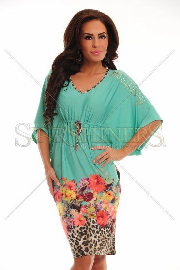 Rochie MissQ Jungle Girl Green