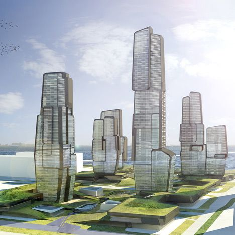 Yongjia World Trade Centre Wenzhou by UNStudio