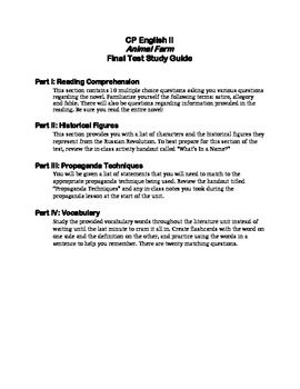 English Final Exam Essay Prompts For Animal Farm - image 5