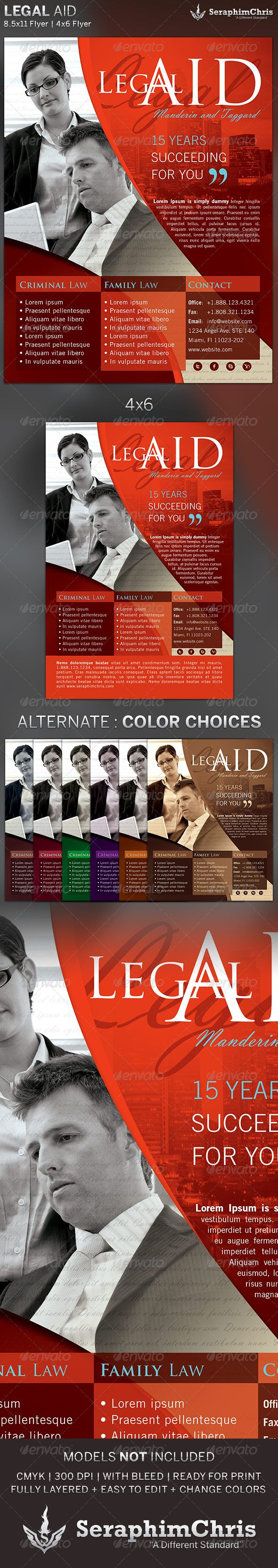 Legal Aid Flyer Template 2 94 best