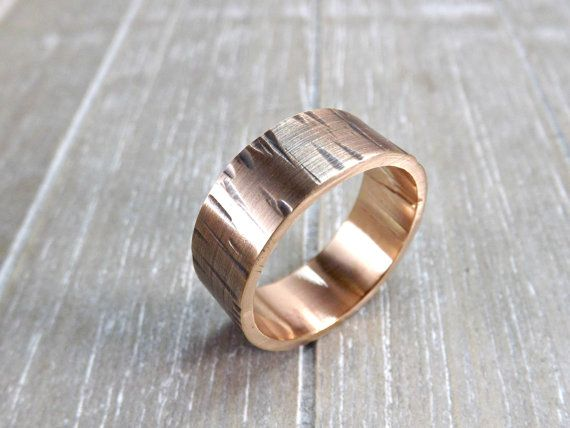 Structured bronze ring. Hammered bronze ring.    Perfect as a rustic wedding ring, mens ring or a really cool ring for every day. Also wonderful as a