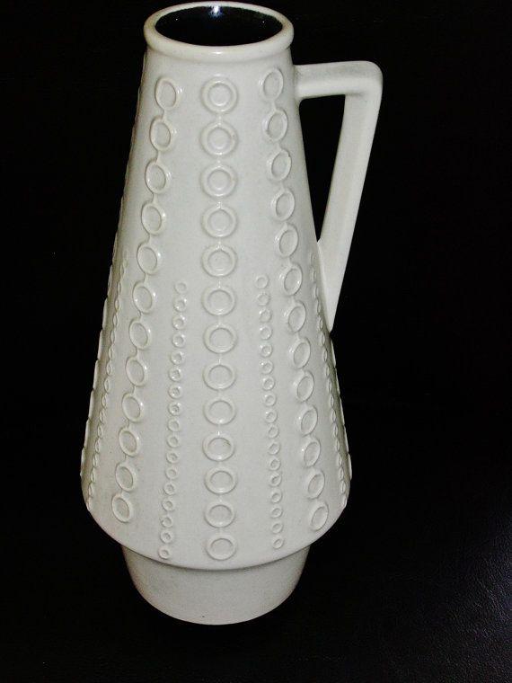 Vintage Clemens & Huhn ceramic handled vase by vintage2remember, €60.00