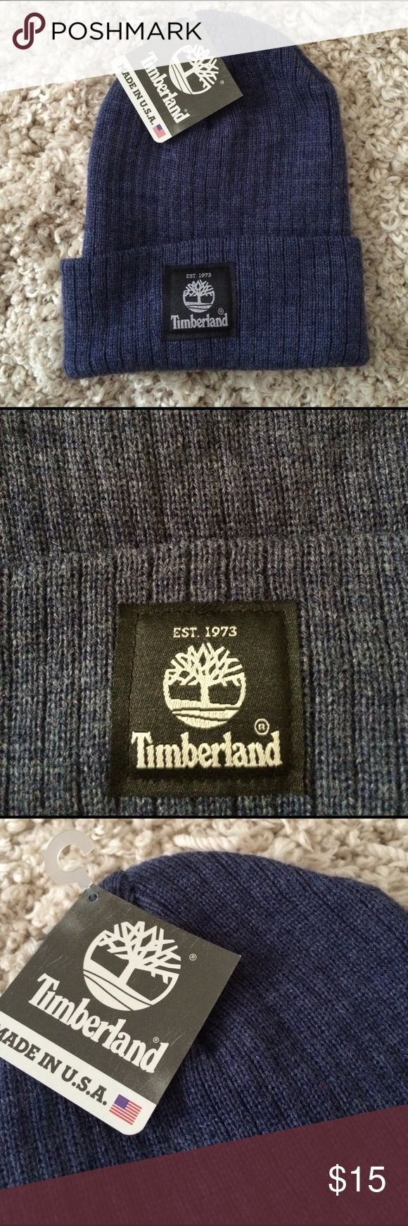 Timberland BNWT blue hat Brand new Timberland hat! No flaws, perfect condition. Timberland Accessories Hats