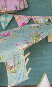 Victorian Rose Ironing Board Cover - April Cornell