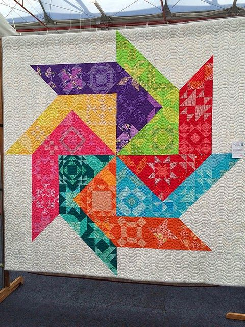 656 best Rainbow Quilts images on Pinterest | Rainbow quilt, Easy ... : show quilts - Adamdwight.com