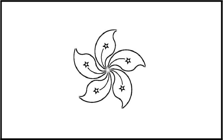 hong kong of flags coloring page for kids kids coloring pages pinterest flags and geography