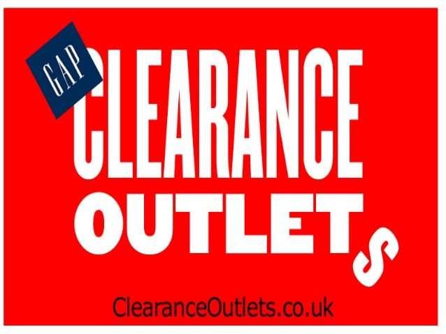 The Gap Clearance Outlets