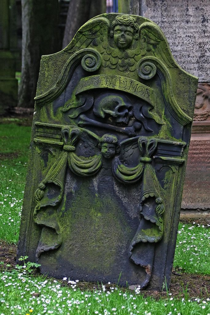 Leo Reynolds headstone St Cuthbert Kirkyard Edinburgh, Midlothian, Scotland, UK