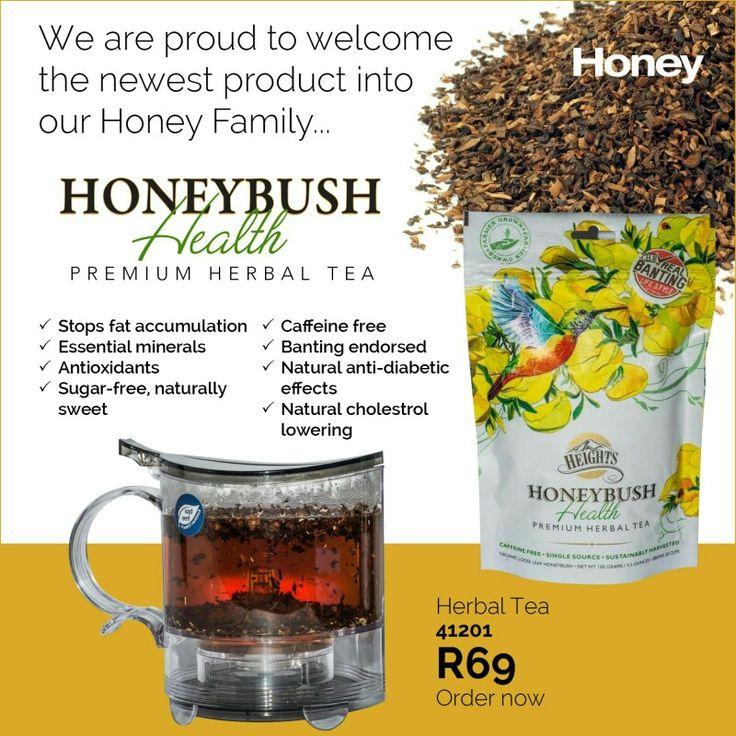 Honey jewellery  bush honeybush tea
