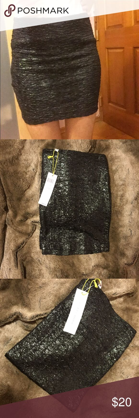 NEW BCBGENERATION BLACK MINI SKIRT New with tags never worn. Size S. Feel free to put in offers. Great for any occasion BCBGeneration Skirts Mini