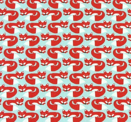 Foxy Too -Studio Saartje - online winkel met designer-, retro- en vintage stoffen en exclusieve patronen