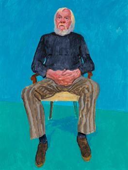 Retratos íntimos de David Hockney