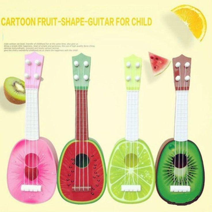 Kids Fruit Ukulele Ukelele Uke Small Guitar Musical Instrument Funny Toy Gift