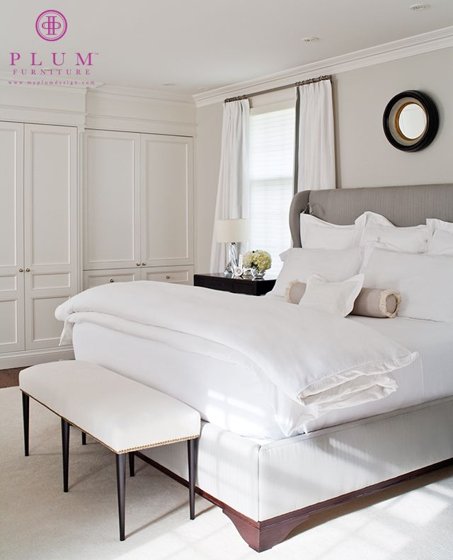 The Archie Bed & Coco Bench by Colleen McGill of McGill Design Group Inc www.mcgilldesign.ca