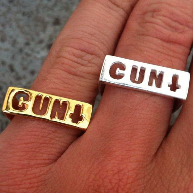 50% OFF CUNT Rings SALE!! Sale Price $12.50 !! At www.iheardtheyeatcigarettes.com Free World Delivery!! xxx #jewelry #jewellery #ring #rings #boho #bohemian #hippy #hippie #gypsy #fashion #love