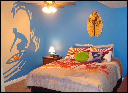 surfing bedroom pictures murals | boys+surfing+theme+bedrooms boys+surfing+theme+bedroomsjpg