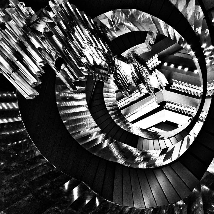 The Downward Spiral... iPhone 6, Snapseed, ND, Prague Instagram & EyeEm @majklb