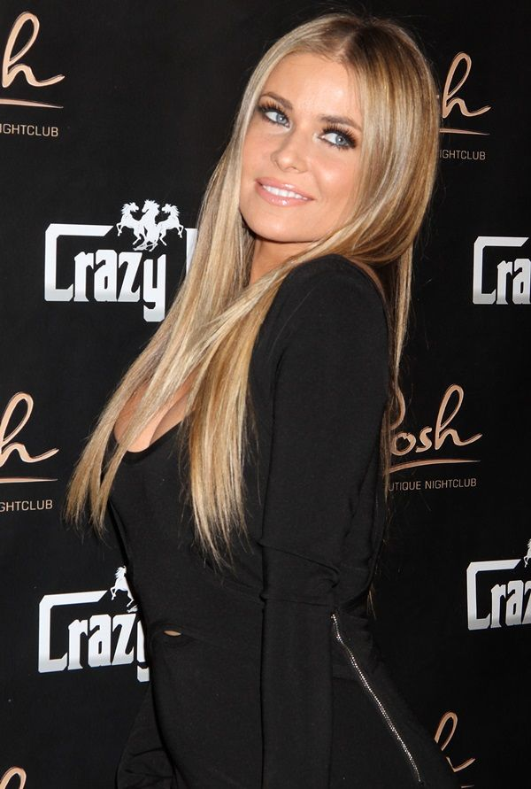 Iconic bombshell Carmen Electra celebrating her birthday at Crazy Horse 3 Gentlemen's Club in Las Vegas on May 5, 2013