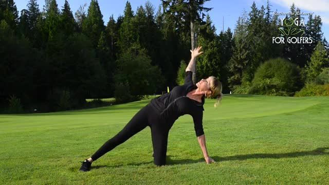 Fitness Friday A Great Yoga Program For Golfers Golf School Friday Workout Yoga Program