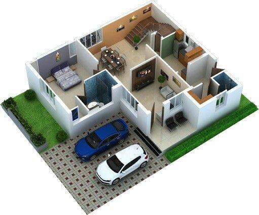 Casa 2 andares 4 quartos