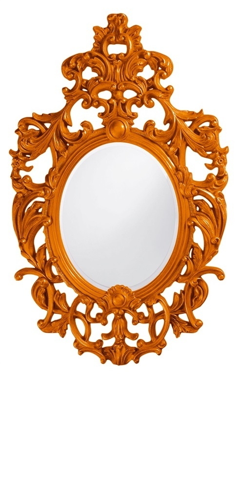 Wall Mirrors, Tangerine Orange Baroque Mirror, so beautiful, one of over 3,000 limited production interior design inspirations inc, furniture, lighting, mirrors, tabletop accents and gift ideas to enjoy repin and share at InStyle Decor Beverly Hills Hollywood Luxury Home Decor enjoy & happy pinning