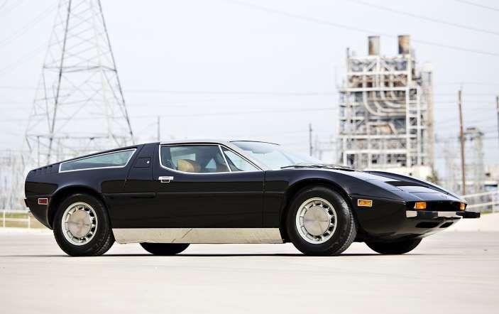 1974 Maserati Bora 4.9 - Gooding & Company,  Brian Henniker