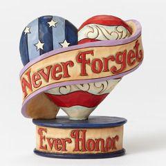 Mini Flag Remembrance Heart - 4051413 $14.00