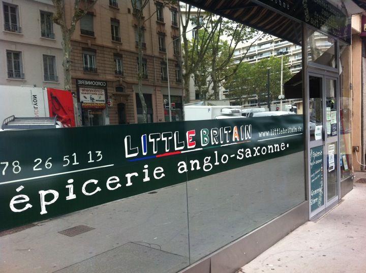 Little Britain à Lyon, épicerie américaine