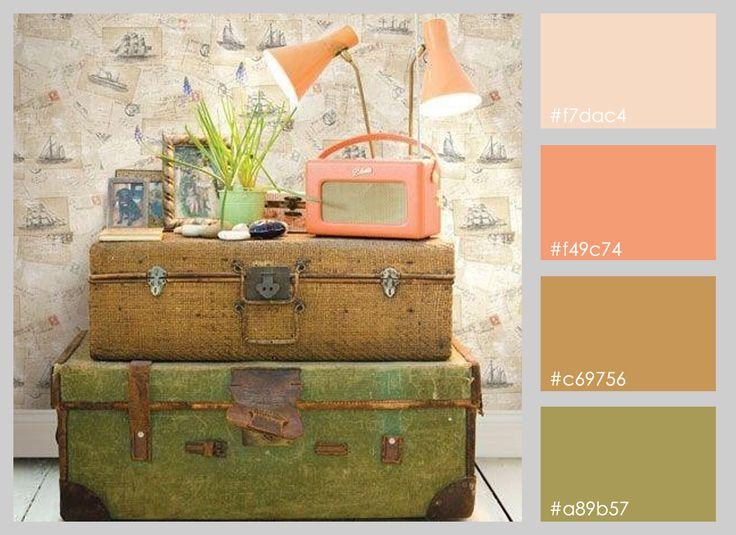 Mi Dulce de Melocoton: Paletas de colores