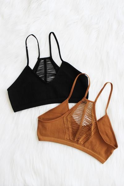 Details Size Shipping • 92% Nylon 8% Spandex • Seamless Slash Racer Back Bralette. • Hand Wash • Line dry • Imported • XS/S: 32B, 34A, 34B • M/L: 34B, 36A,36B F